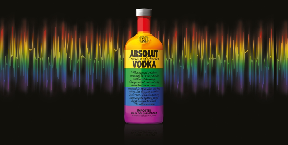 Absolut Vodka 2015 Colors limited edition