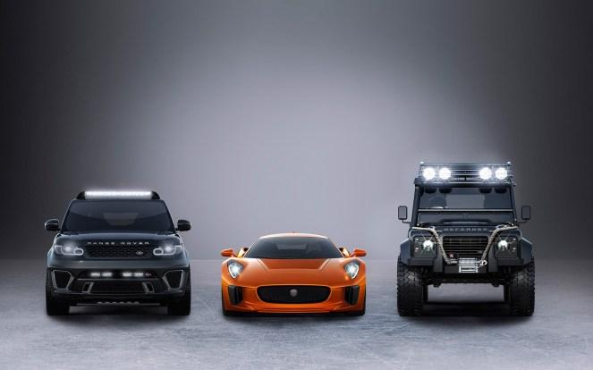 Bond Cars in Jame Bond 24 Spectre